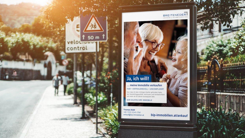 Breiteneder Immobilien / Immobilienankaufskampagne